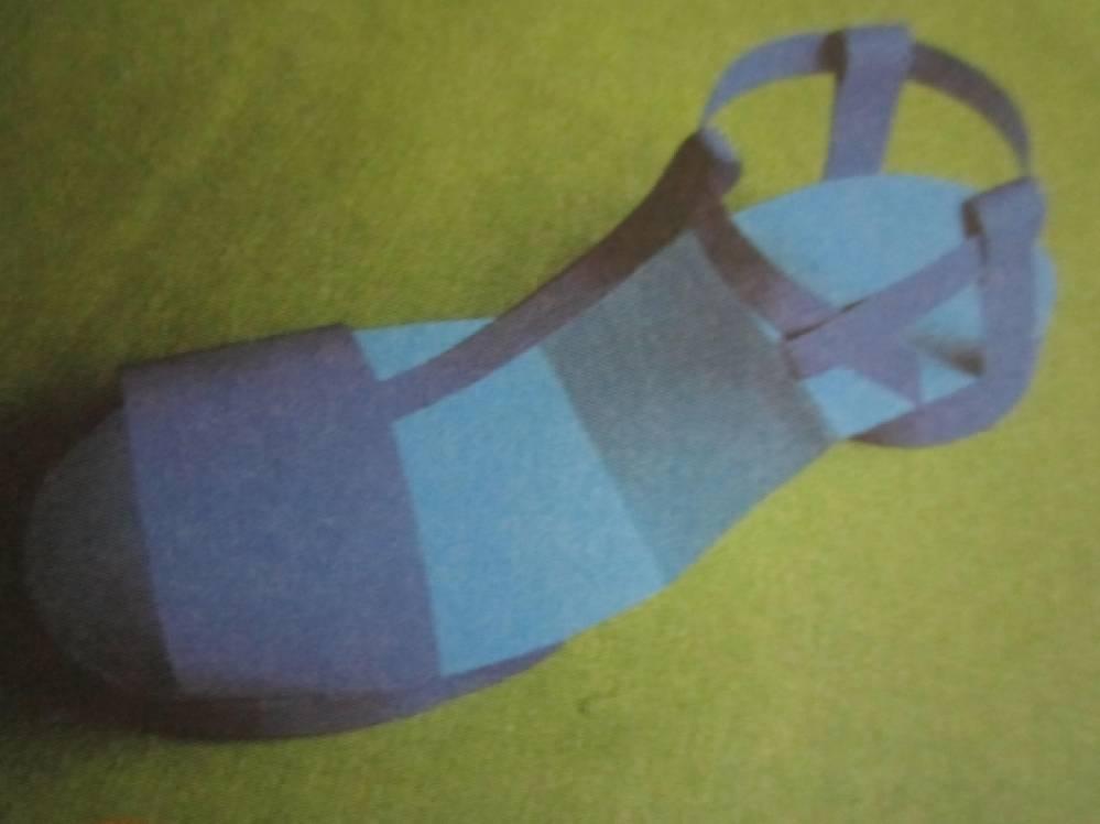 Технология как сделать туфлю