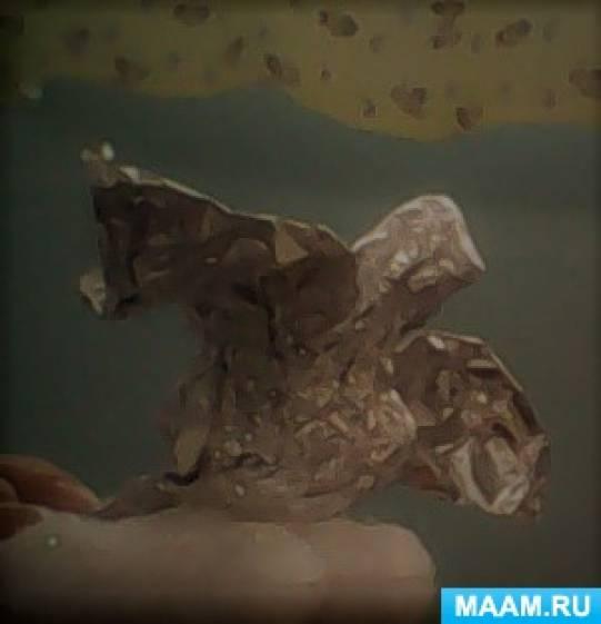 Каркасное конструирование из фольги «Серебряные птички»