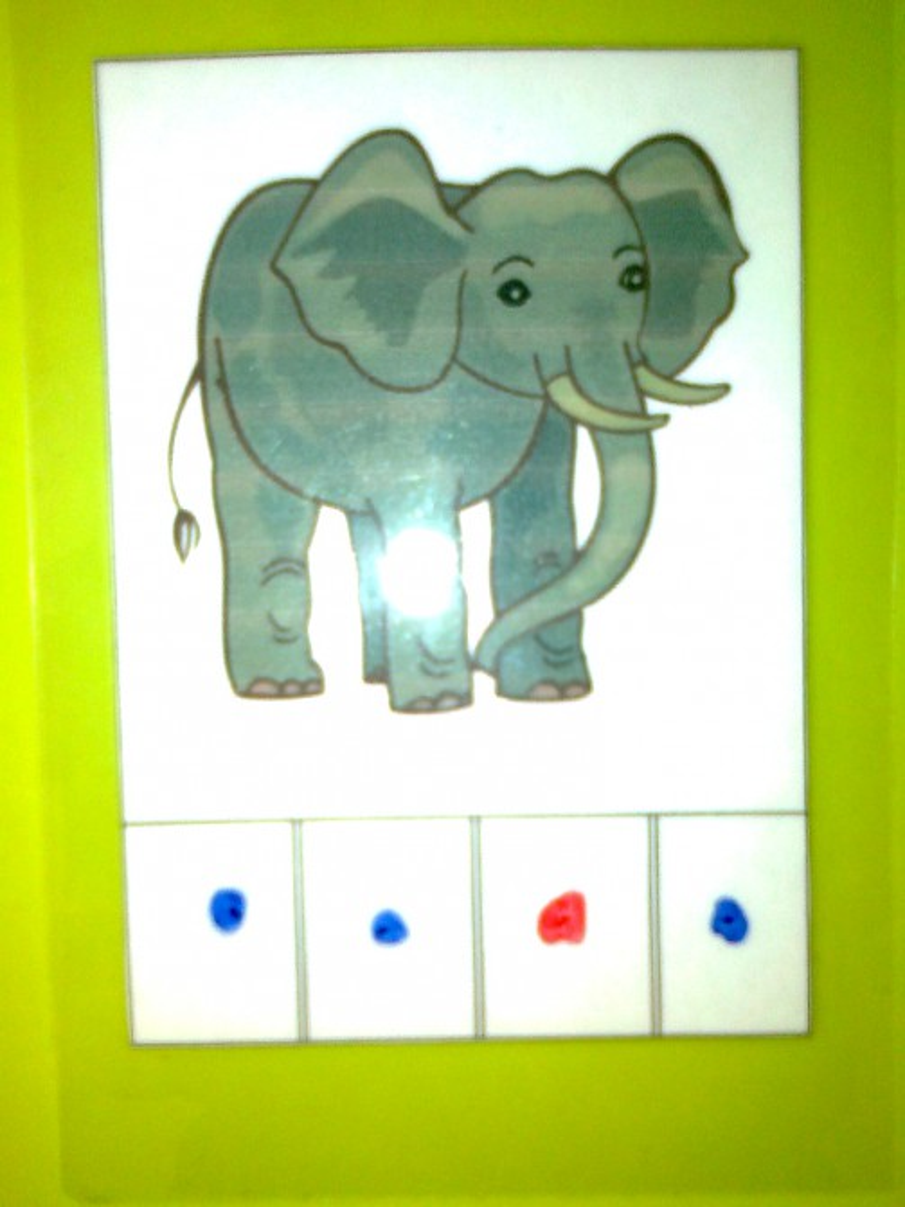 звуковая схема слова слон картинка