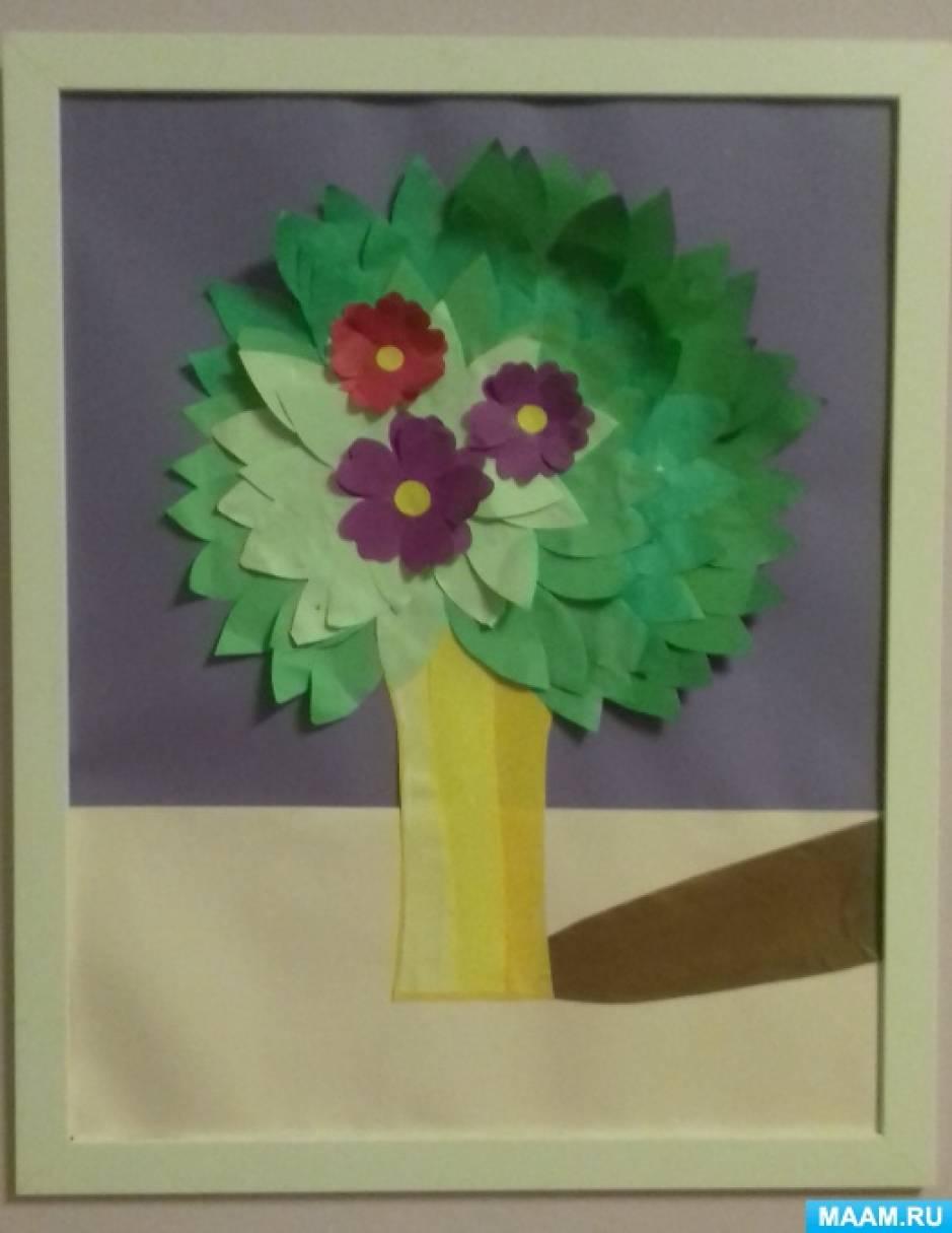Мастер-класс по творческой работе «Весенний букет»