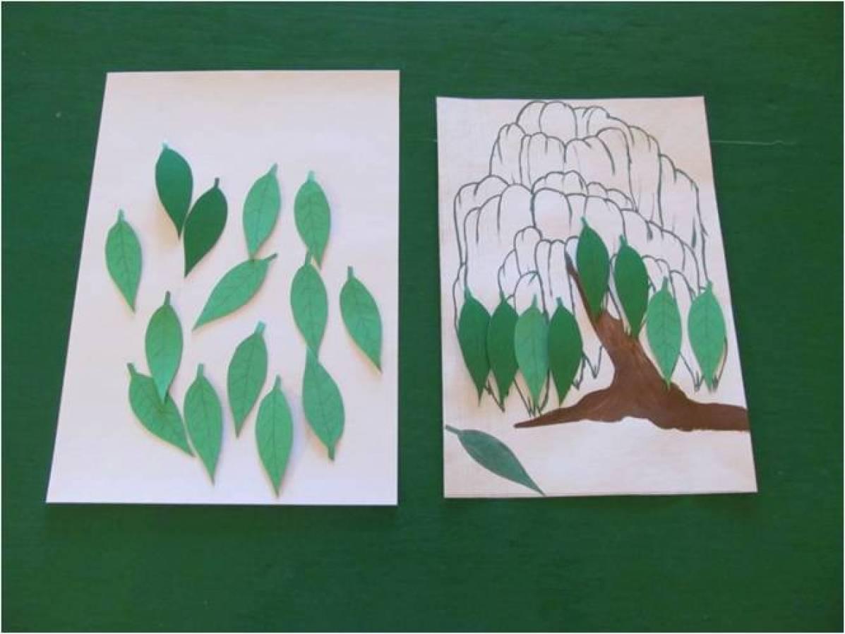 Дидактическая игра «Одень дерево»