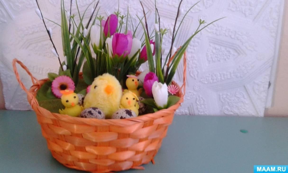 Фотоотчёт «Скоро праздник Пасха»