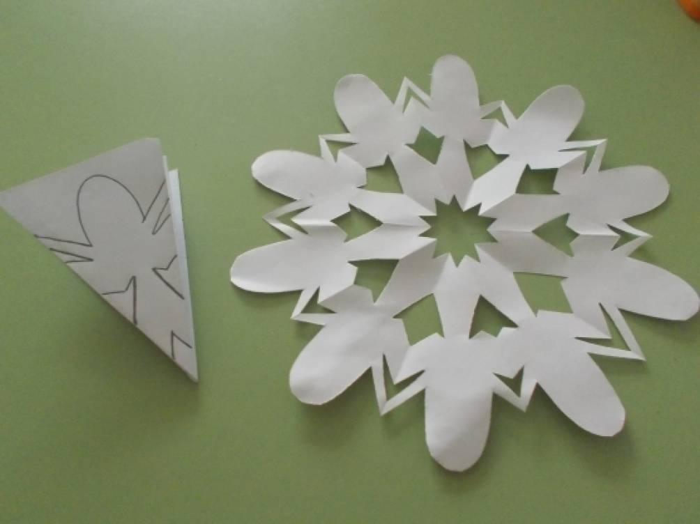 Мастер класс по изготовлению объемных снежинок