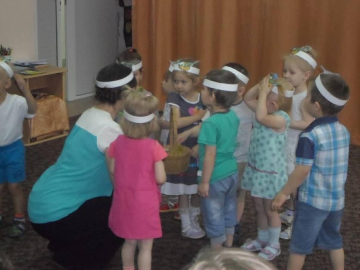 знакомство с семьей в детском саду