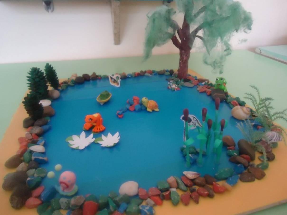 Из чего сделать макет детского сада своими руками