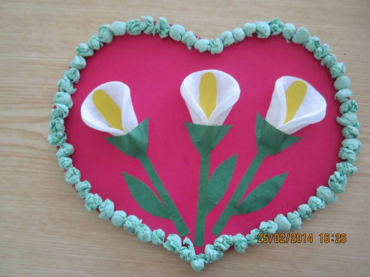 Валентинка для мамы (мастер-класс)
