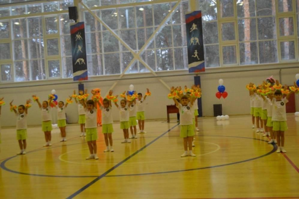 Детский спортивный фестиваль «Веселая зарядка».
