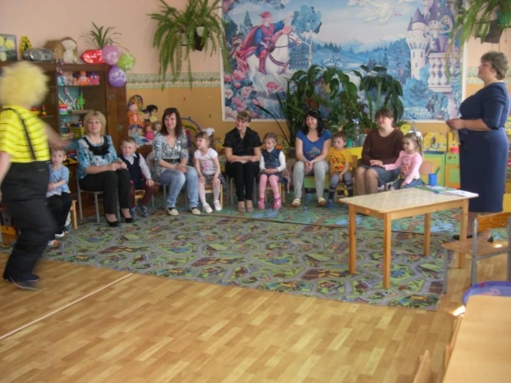 Заседание родительского клуба «Встречаем праздник весело»