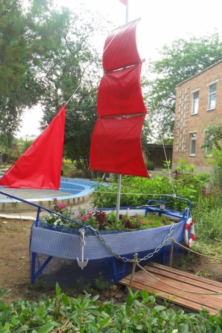 Корабль в детском саду своими руками