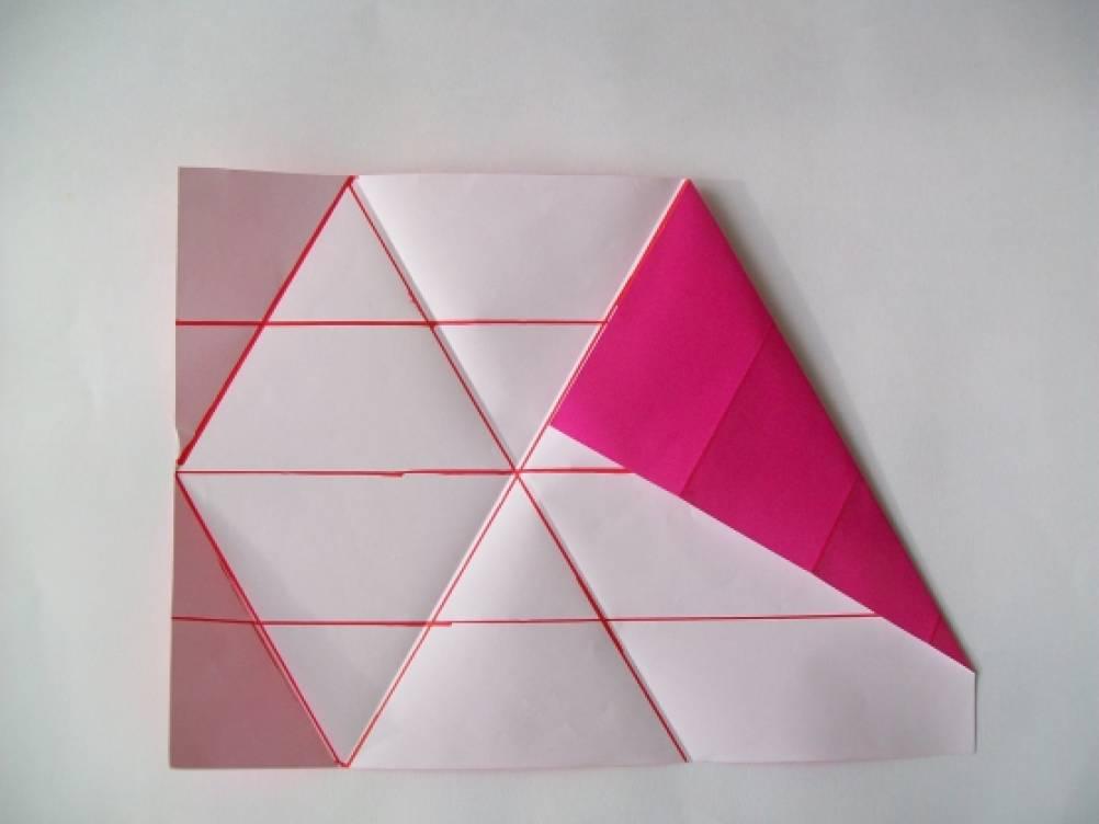 Изготовление снежинки оригами. Мастер-класс. Воспитателям детских садов, школьным учителям и педагогам - Маам.ру