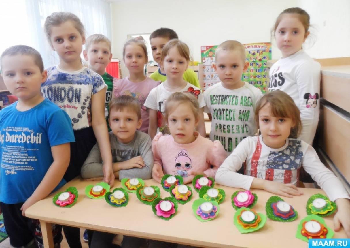 Проект с детьми подготовительной группы «Праздник бабушек, сестричек, подружек и мам»