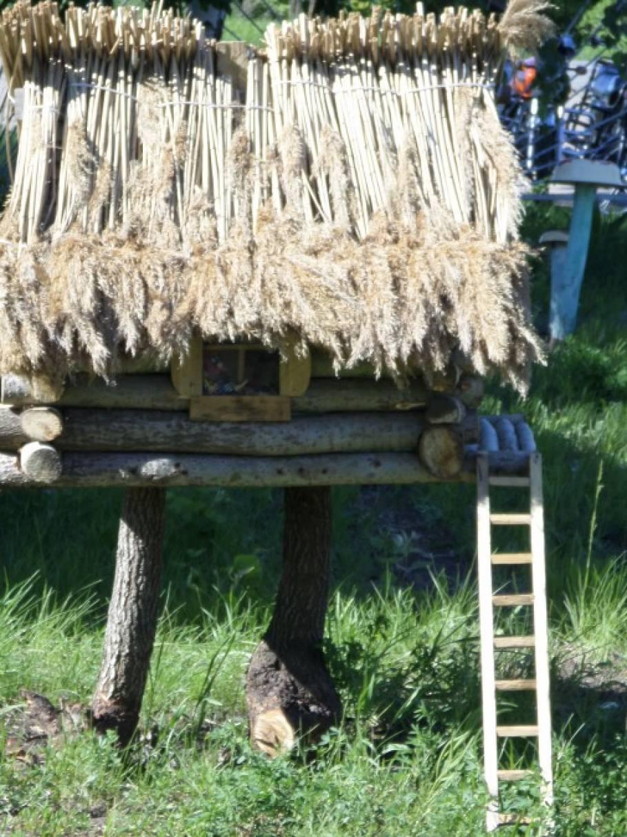 Поделки из дерева и фанеры для сада своими руками, фото 56