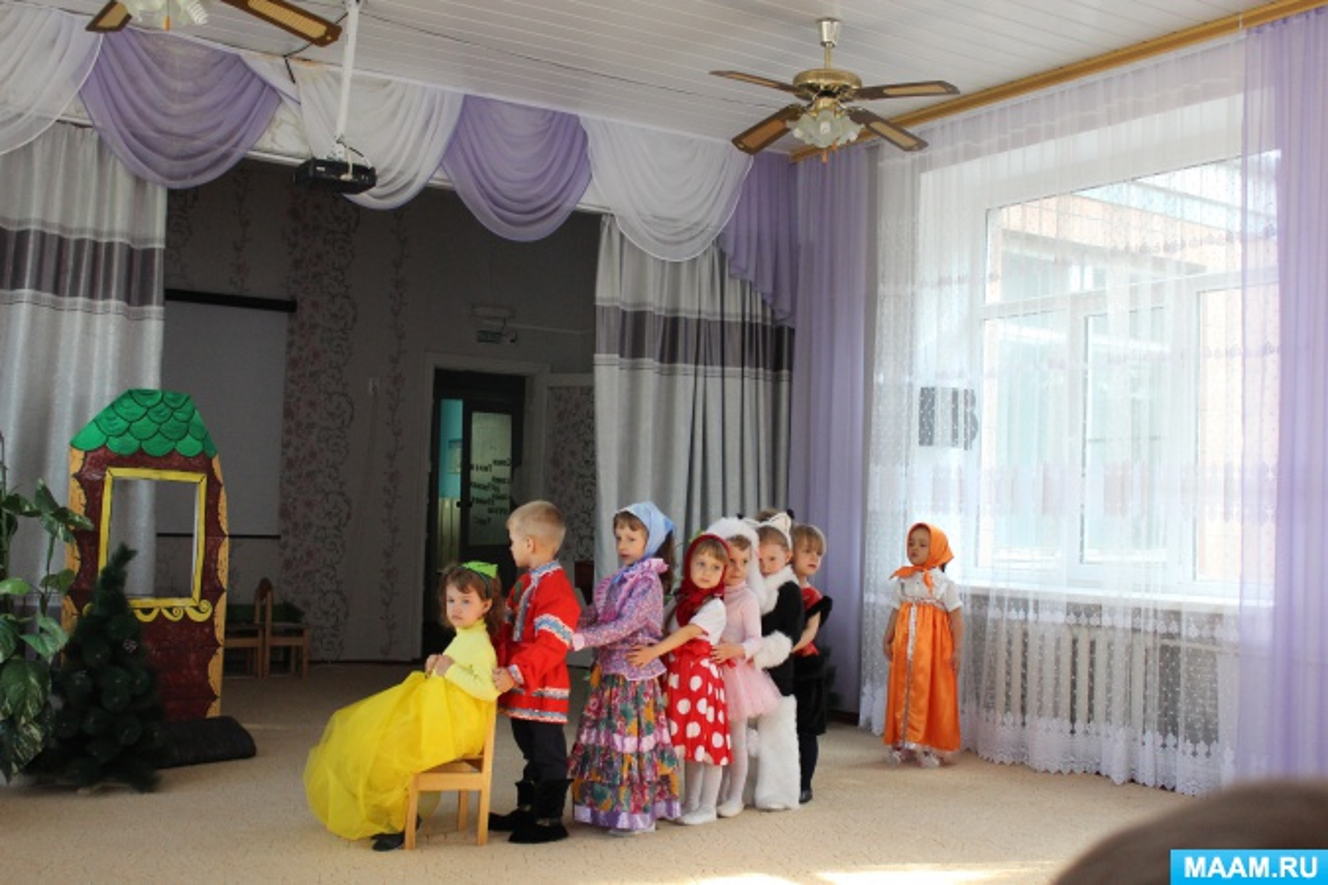 Сценарий инсценировки сказки «Репка» во второй младшей группе