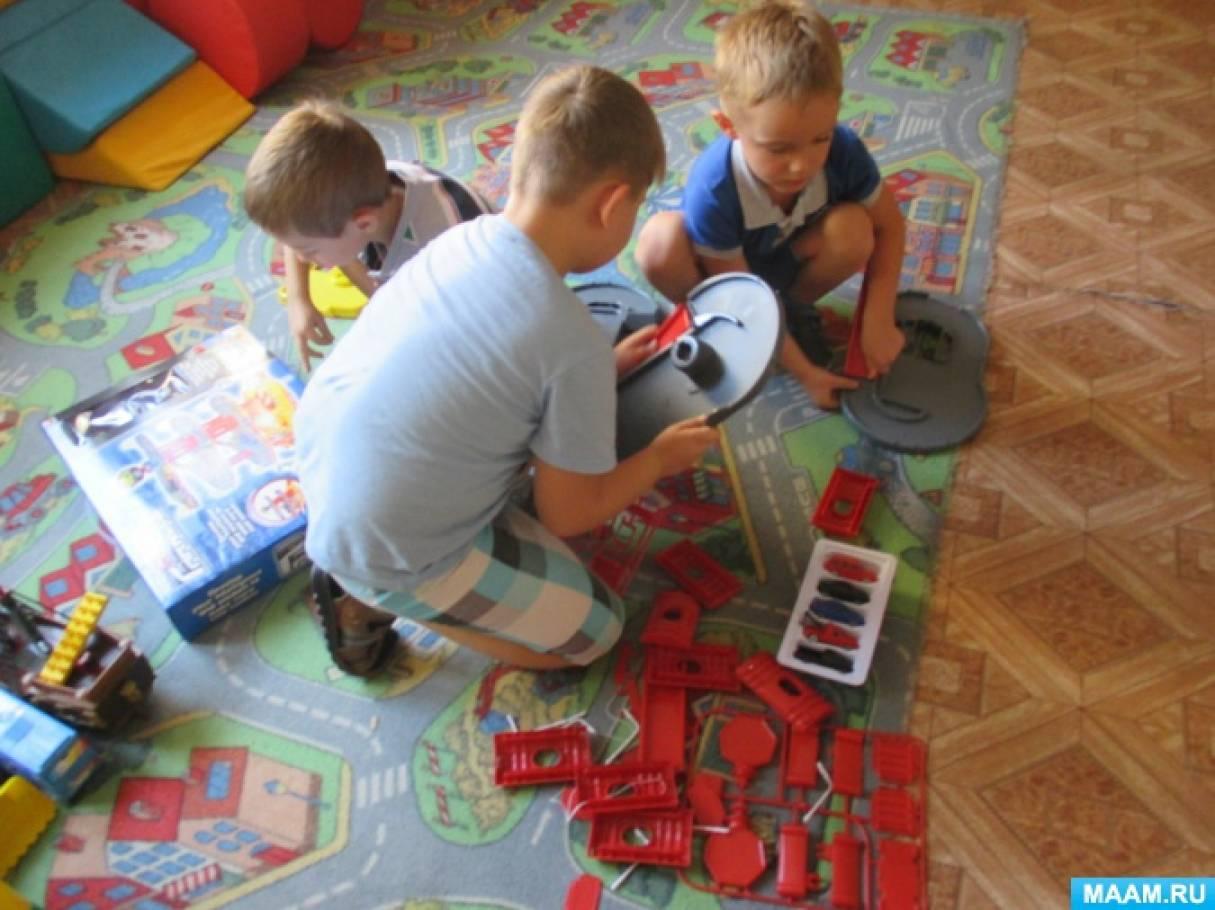 Фотоотчет «Детский мастер-класс «Автотрек»