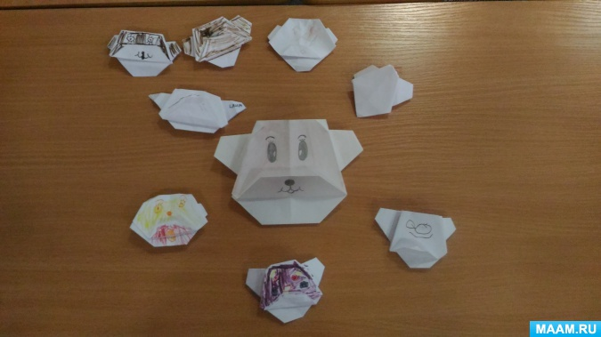 Отчет о работе кружка «Оригами»