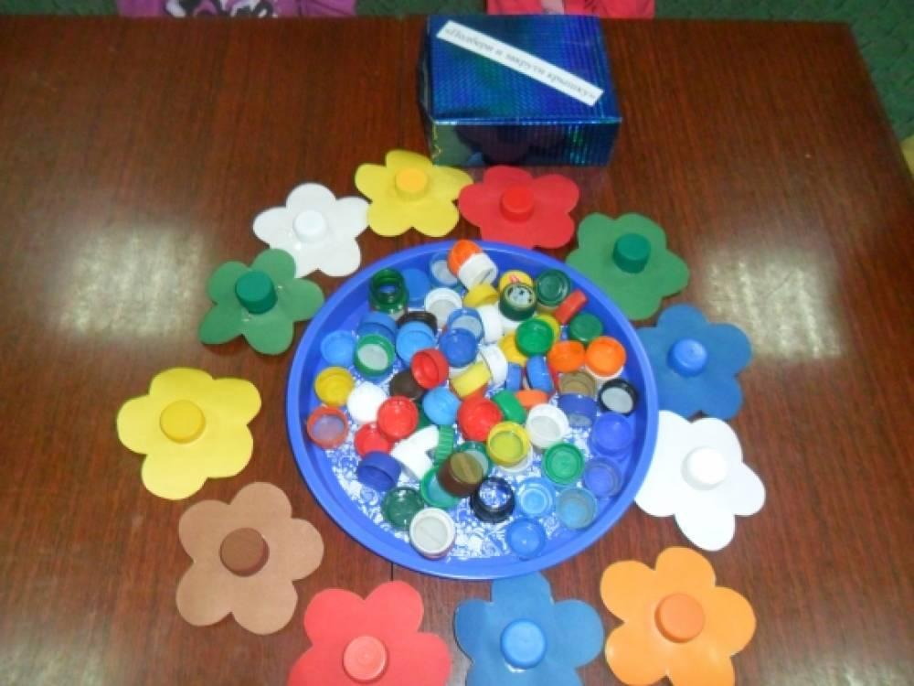 Развивающая игрушка для изучения цвета своими руками