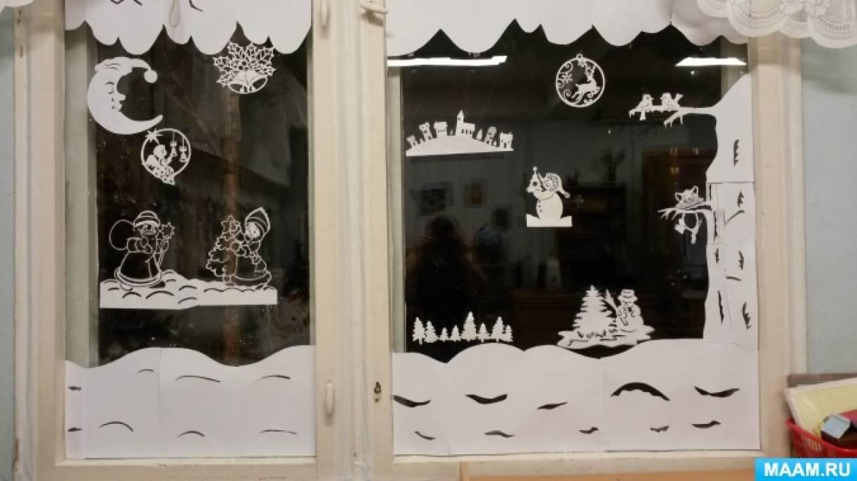 Новогодний проект «Снеговик»