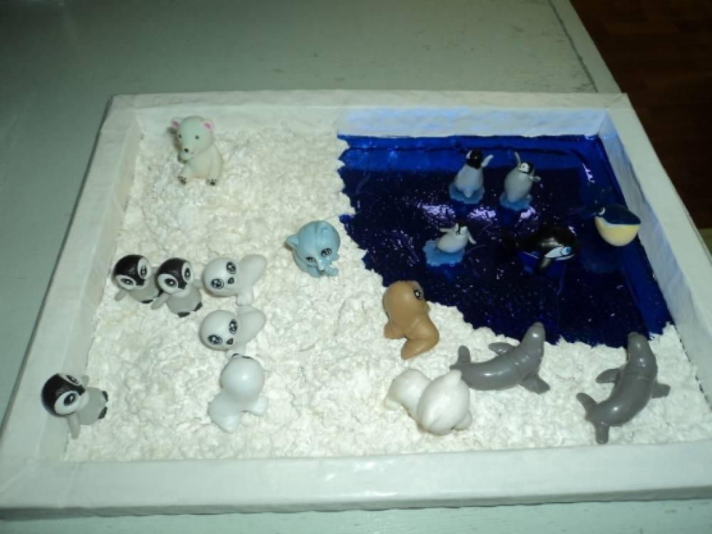 Макет антарктиды для детского сада