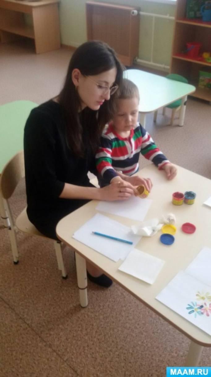 Фотоотчет о детском мастер-классе «Букет для мамы»