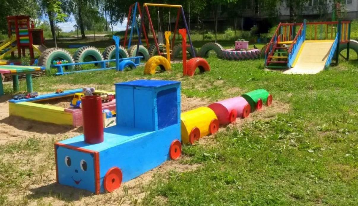 Оригинальное оформление участка в детском саду фото по фгос