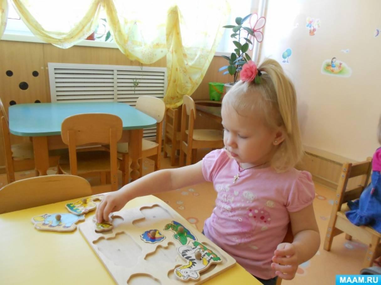 Сенсорное развитие детей раннего возраста через дидактические игры