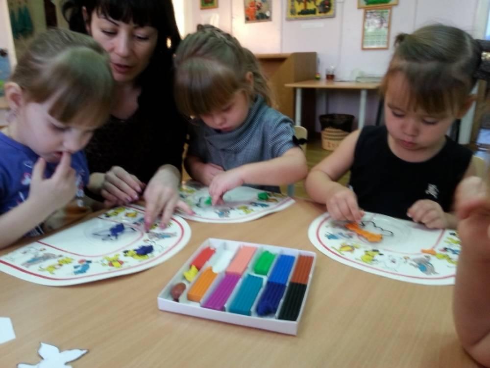 Лепим с детьми 6-7 лет поэтапно картинки