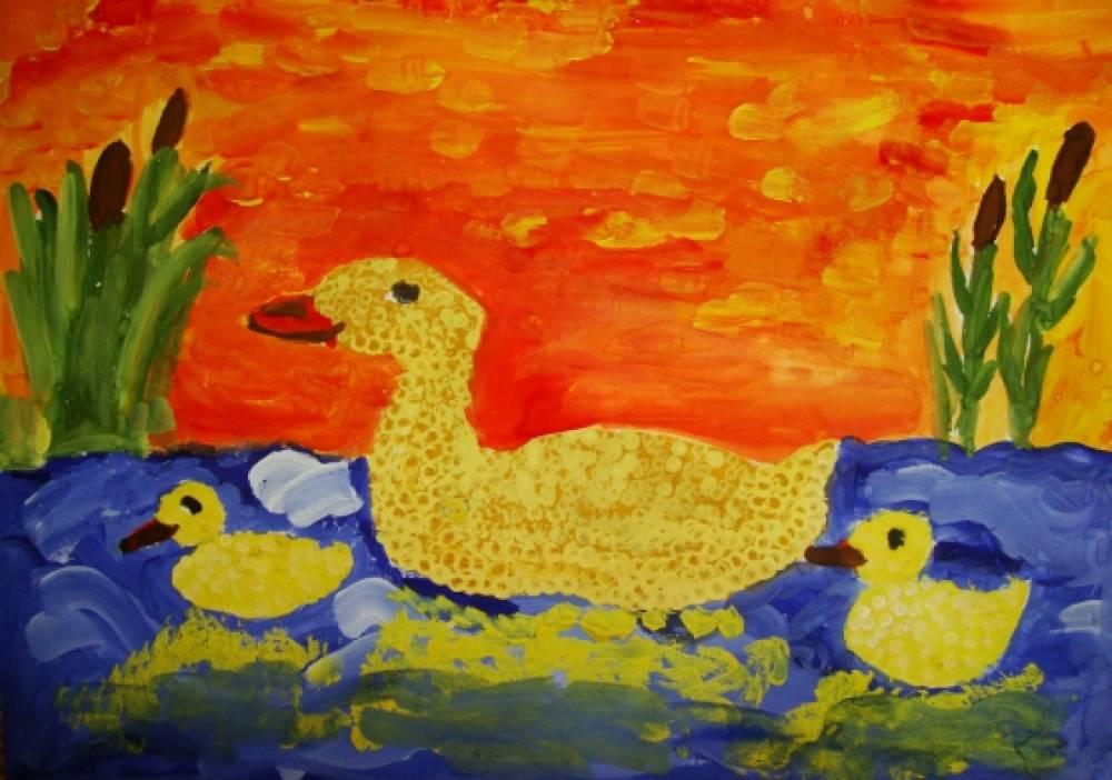 Выставка детских рисунков «Кукурузная страна»
