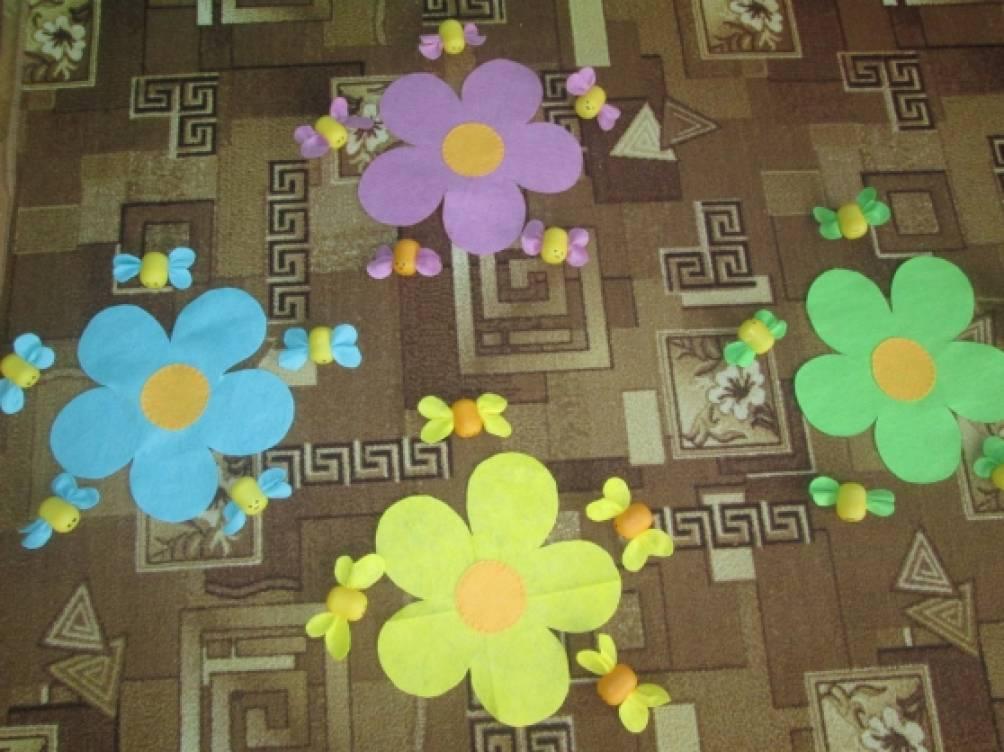 Подвижная игра цветы