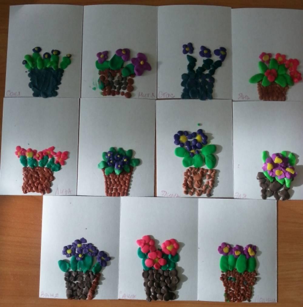 Поделки с детьми из растений 283