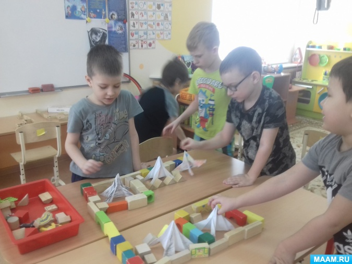 Конспект занятия по конструированию (оригами) для детей старшего дошкольного возраста «Космос— это здорово!»