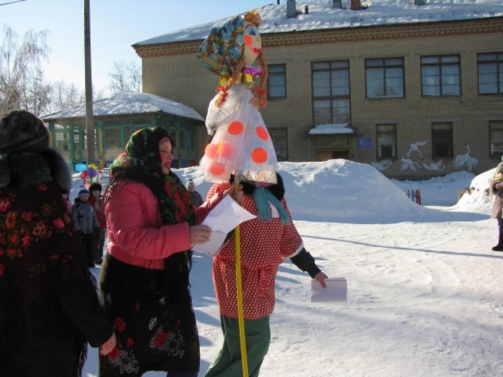 Фотоотчет мероприятия «Проводы зимы»
