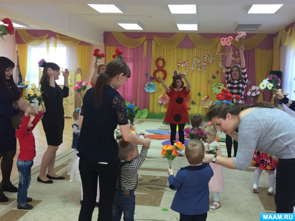 Фотоотчет о празднике «8 марта» в детском саду