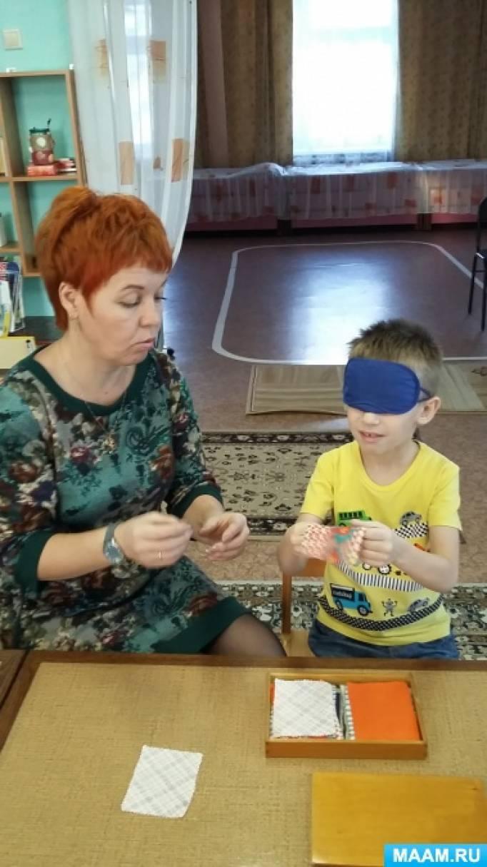 Дидактические материалы системы Марии Монтессори как средство сенсорного развития детей дошкольного возраста