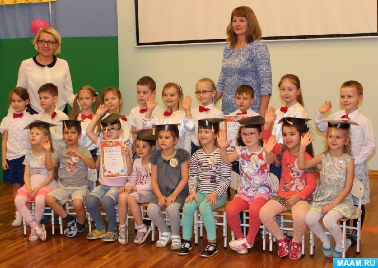 Сценарий математического КВН для детей 5–6 лет