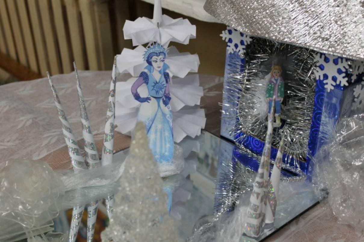 Замок для снежной королевы своими руками 7