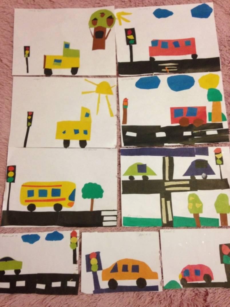 правильно понимаю, занятие с детьми рисование светофор поиск