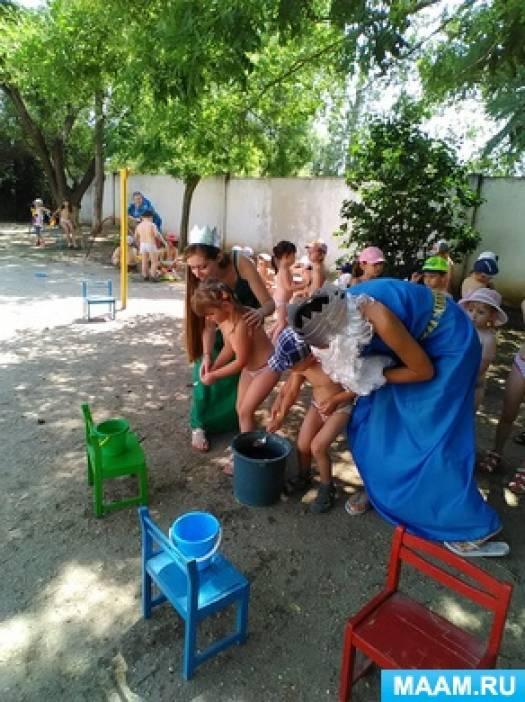 Сценарий праздника для всех возрастных групп детского сада «День Нептуна»