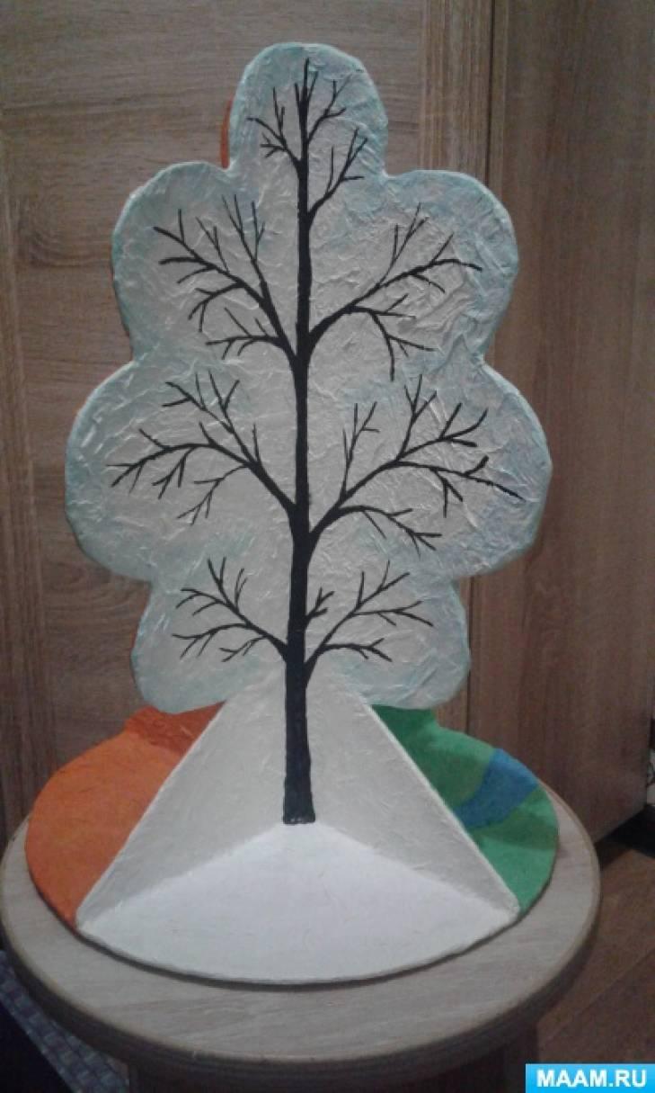 Дерево времена года своими руками маам 71