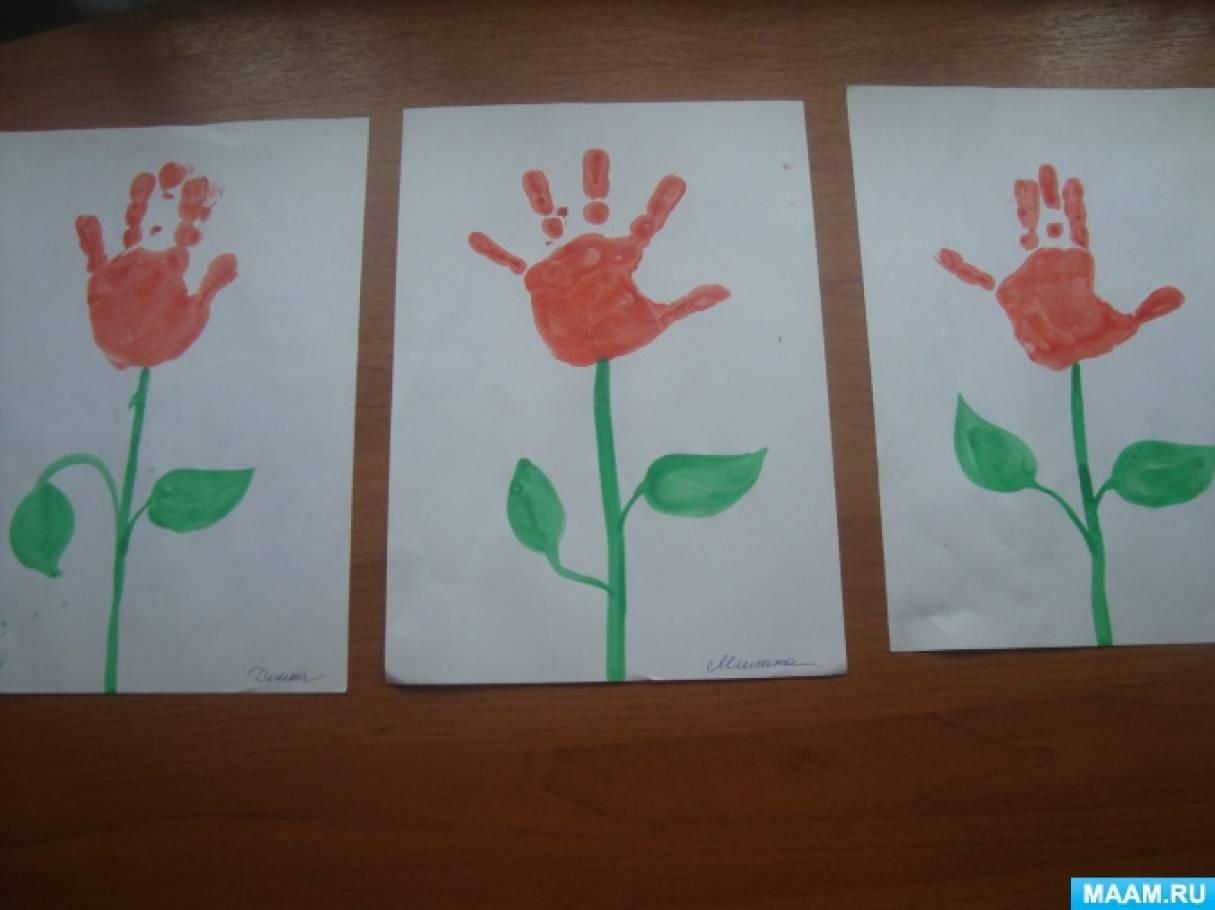 Отчёт (фото) по теме: «Сенсорное развитие детей младшего дошкольного возраста посредством техник нетрадиционного рисования».