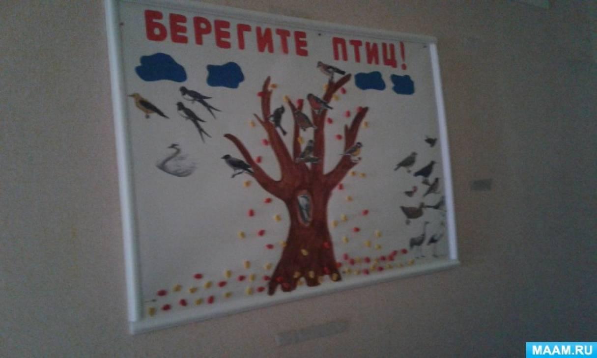 Экологический проект «Перелетные и Зимующие птицы» (Подготовительная группа)