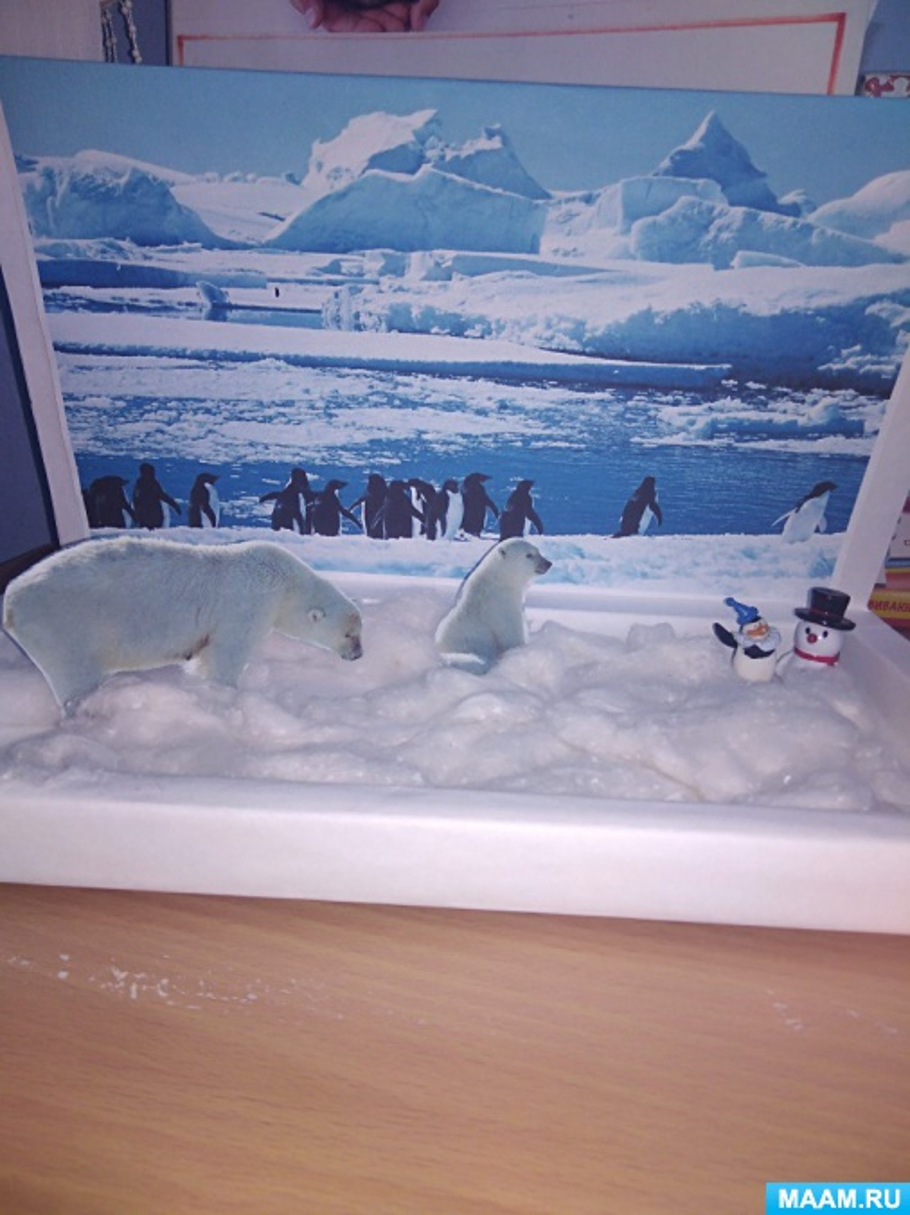 Коллективная работа «Арктика»