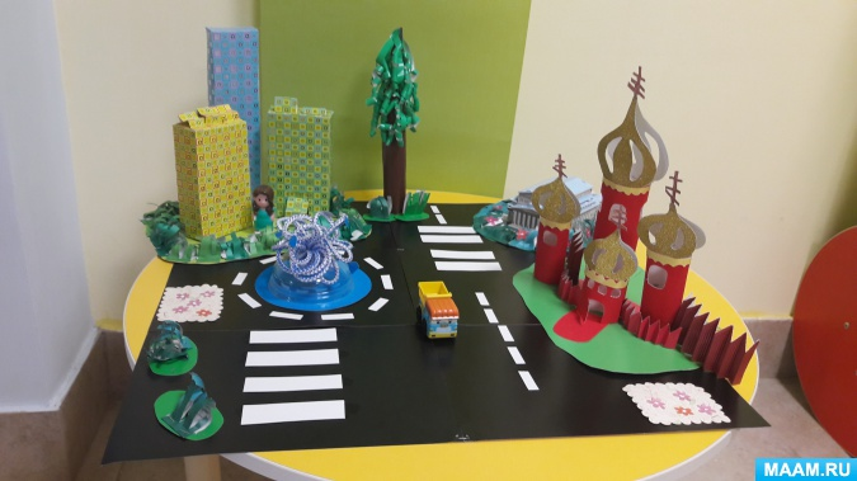 Коллективная поделка на конкурс «Я люблю свой город Химки…»