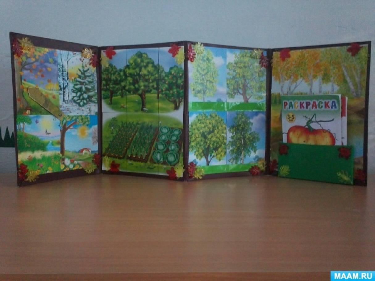 Рекомендации по оформлению лэпбука для детей младшей группы детского сада своими руками «Осень»