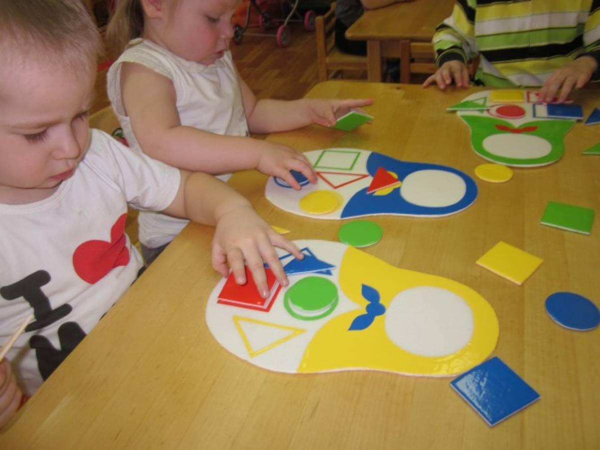 Развивающие игры для младшей группы своими руками