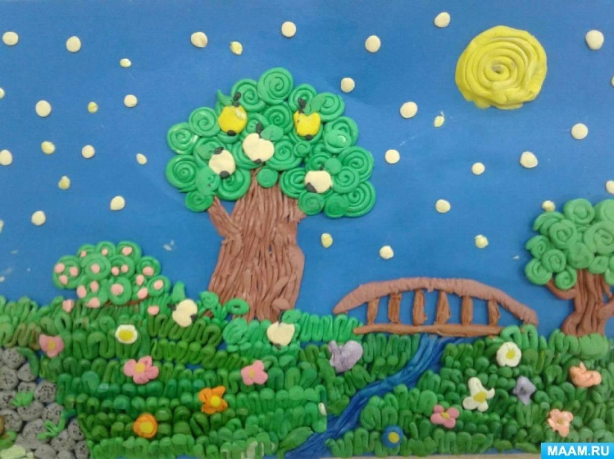 Пластилинография в детском саду