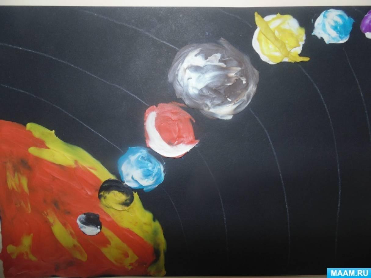 Пластилинография «Сказочная планета»