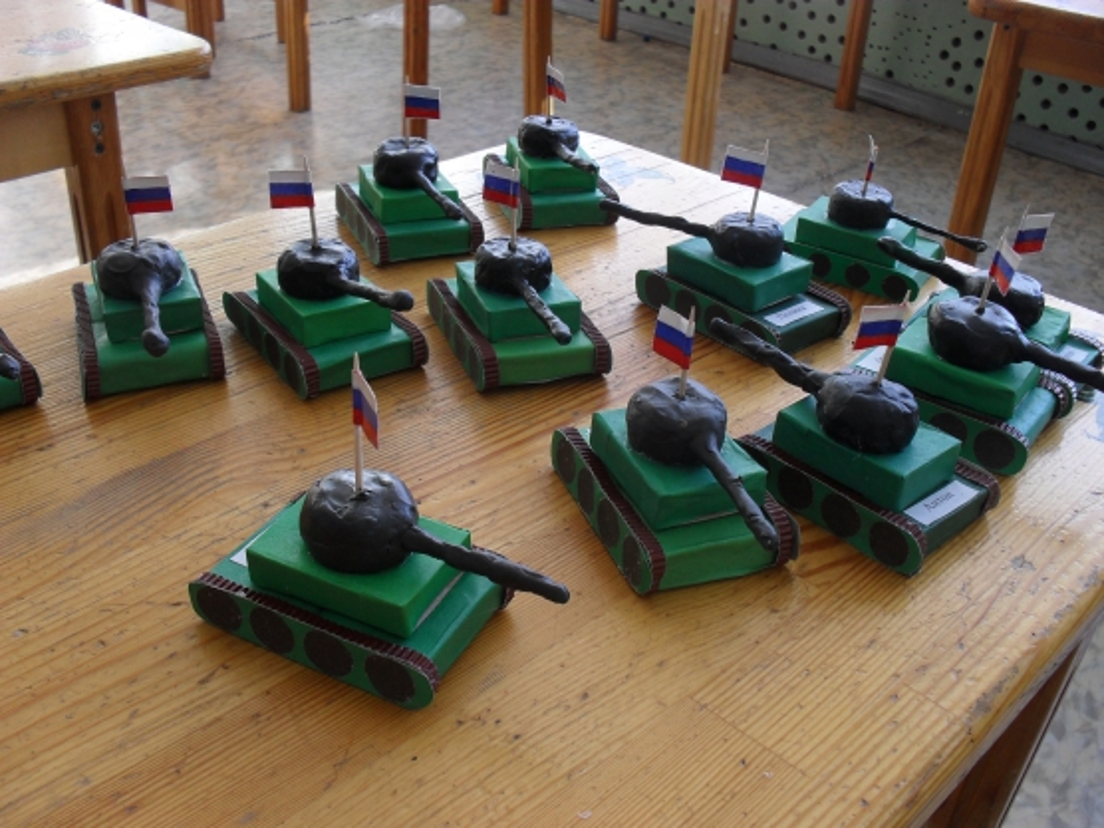 Как сделать танк - Ладушки. ру 36