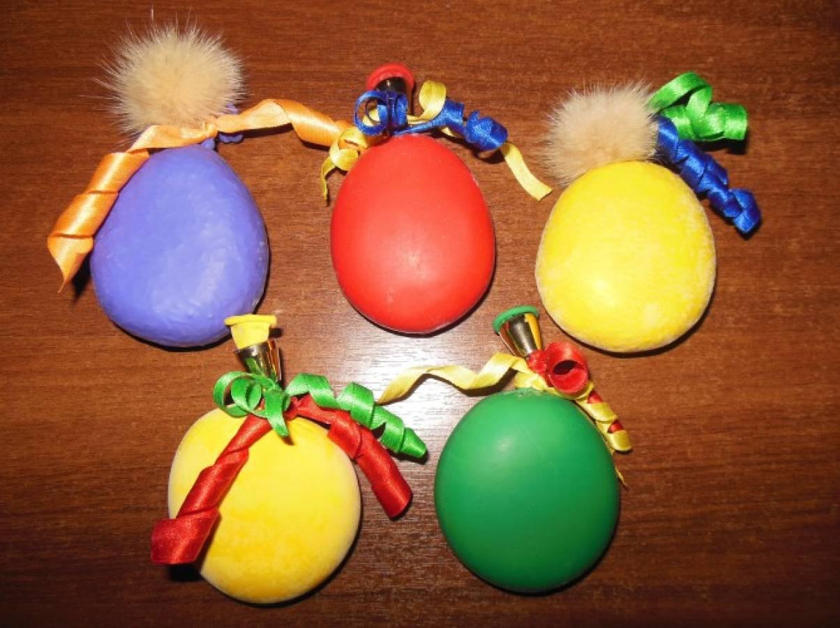 Поделка из шарика с мукой 83