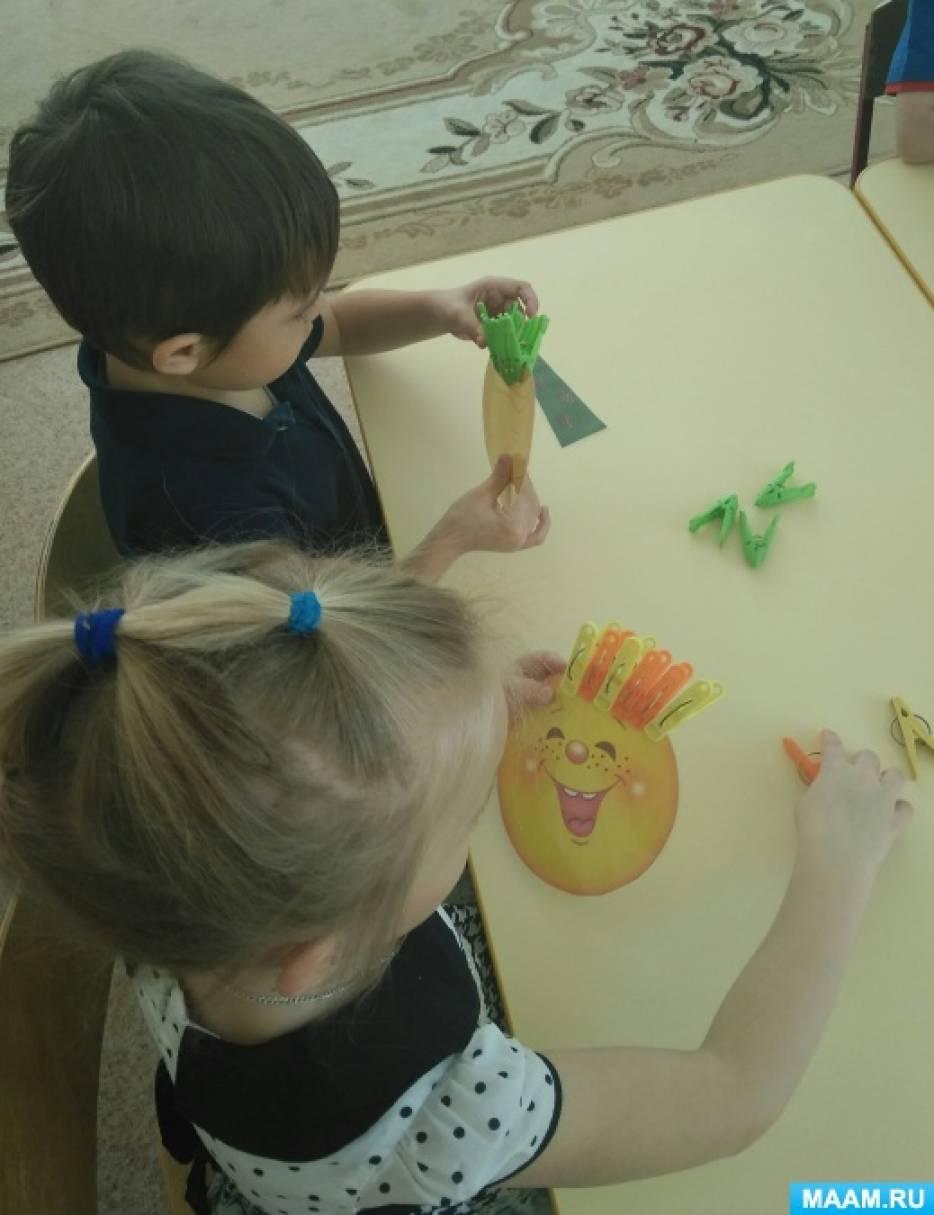 Дидактическая игра по развитию мелкой моторики рук у дошкольников с ОНР