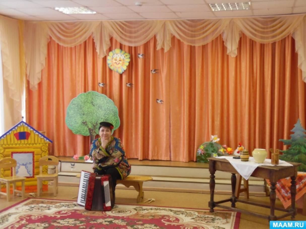 Фотоотчет о музыкально-театральной постановке «Курочка Ряба»